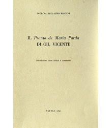 Il 'Pranto de Maria Parda'...