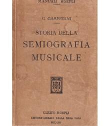 Storia della Semiografia...