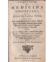 Tractatus de Medicina Universali / Apologia contra Mendaces