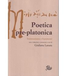 Poetica pre-platonica
