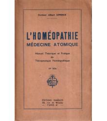 L'homeopathie médicine...