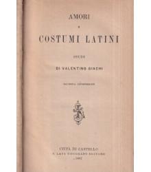 Amori e costumi latini