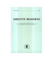 Oriente Moderno Anno XXIV,...